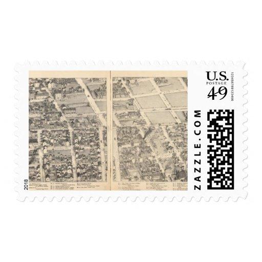 St. Louis, Missouri 5 Sellos Postales