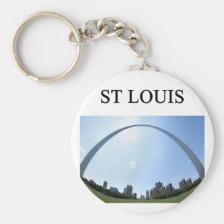 ST LOUIS missouri arch Keychain