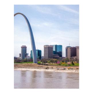 St. Louis Missouri arch Letterhead