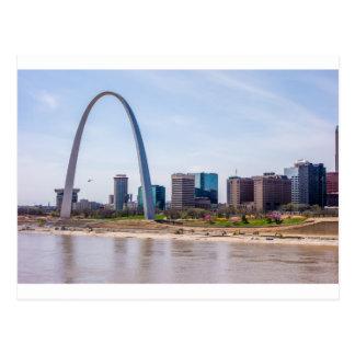 St. Louis Missouri arch Postcard