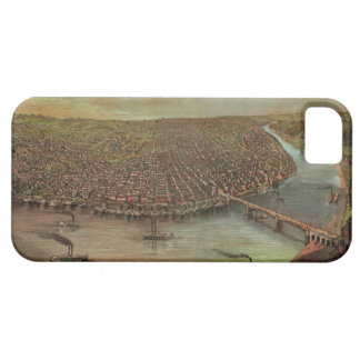 St. Louis Missouri by George Degen from 1873 iPhone 5 Covers