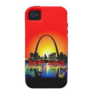 St. Louis Missouri Vibe iPhone 4 Cases