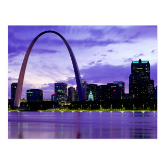 St Louis Missouri Cityscape Postcard