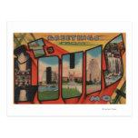 St. Louis, Missouri - escenas grandes 2 de la Postales