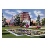 St. Louis Missouri Forest Park Jewel Box Poster