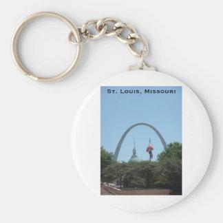 St. Louis, Missouri Keychain