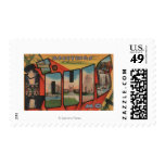 St. Louis, Missouri - Large Letter Scenes 2 Stamp