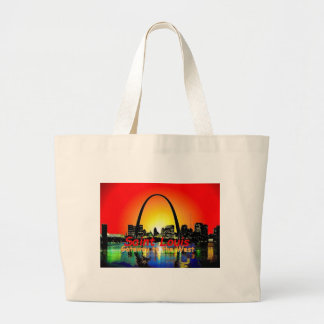 St. Louis Missouri Large Tote Bag