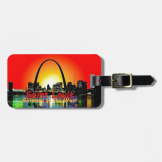 St. Louis Missouri Tag For Luggage