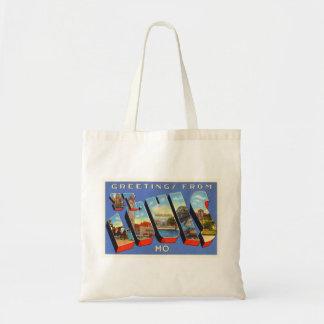 St Louis Missouri MO Old Vintage Travel Souvenir Tote Bag