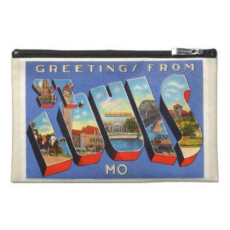 St Louis Missouri MO Old Vintage Travel Souvenir Travel Accessories Bag