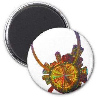 st louis missouri planet 2 inch round magnet