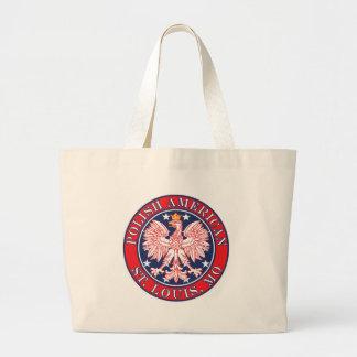 St. Louis Missouri Polish Tote Bags
