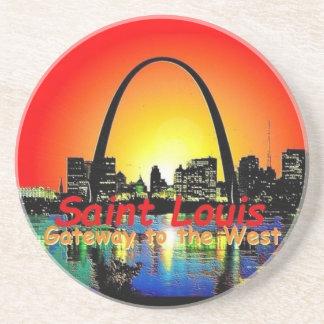 St. Louis Missouri Posavasos Cerveza