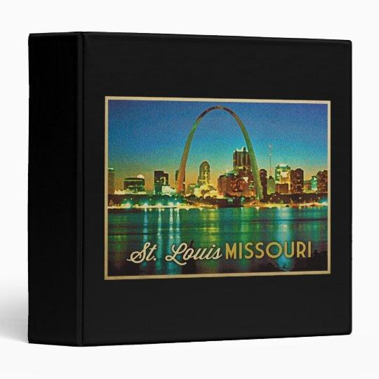 St. Louis Missouri Skyline Binder
