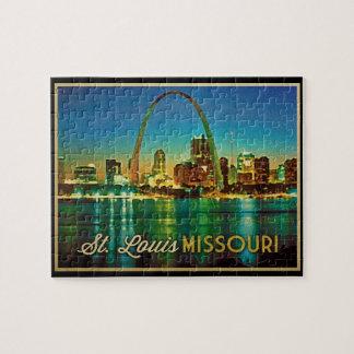 St. Louis Missouri Skyline Jigsaw Puzzle