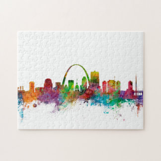 St Louis Missouri Skyline Jigsaw Puzzle