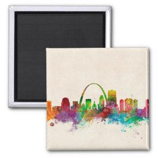 St Louis Missouri Skyline Magnet