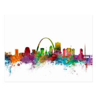 St Louis Missouri Skyline Postcard