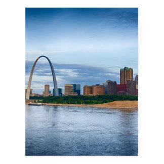 St. Louis Missouri Tarjeta Postal