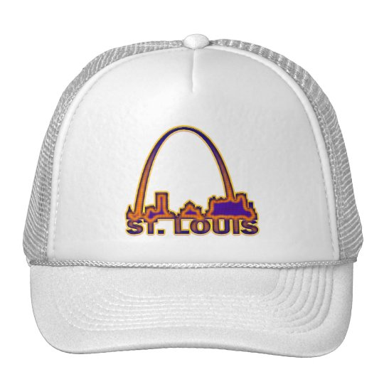 ST. LOUIS, MISSOURI TRUCKER HAT