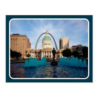 St Louis, MO Arch Postcard