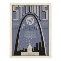 St Louis, MO - Gateway City Postcard