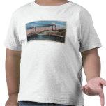 St. Louis, MO - View of Natchez & Robert E. Lee Shirt