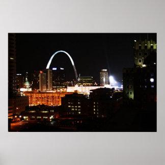 St. Louis Night Poster