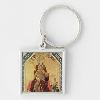 St. Louis of Toulouse  crowning his brother Keychain