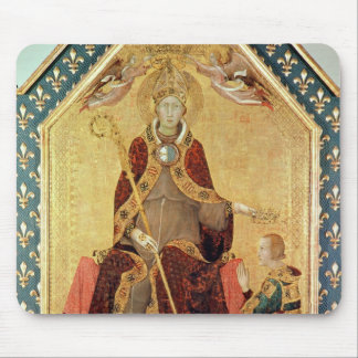 St. Louis of Toulouse  crowning his brother Mouse Pad