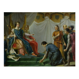 St. Louis  Pardonning Mauclerc Postcard