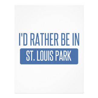 St. Louis Park Letterhead
