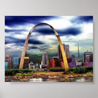 St. Louis por la tormenta Póster