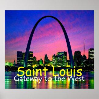 St. Louis POSTER Print