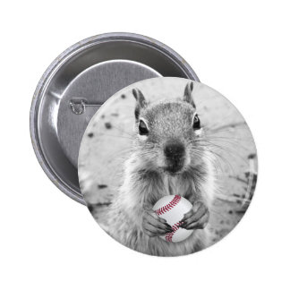 St Louis Rally Squirrel - baseball 2 Inch Round Button