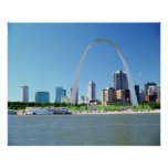 ST. LOUIS RIVER FRONT POSTER