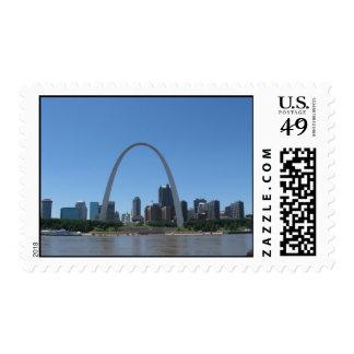 St. Louis Riverfront Postage