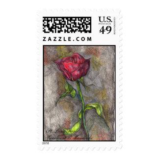 St. Louis Rose Postage