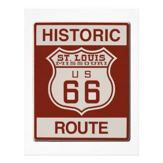 St Louis Route 66 Letterhead
