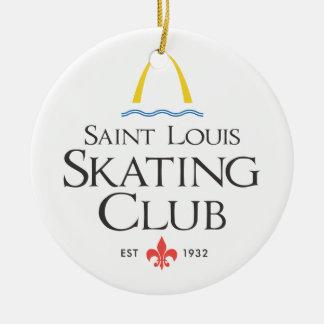 St. Louis Skating Club Ceramic Ornament