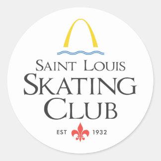 St. Louis Skating Club Classic Round Sticker