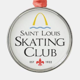 St. Louis Skating Club Metal Ornament