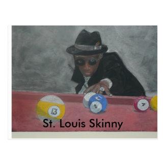 St Louis Skinny Postcard