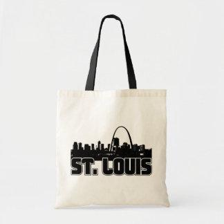 St Louis Skyline Budget Tote Bag