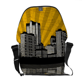 St. Louis Skyline Bag (yellow - detail)