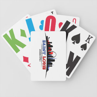 St. Louis Skyline Design Card Deck