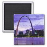 St. Louis Skyline Fridge Magnet
