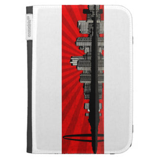 St. Louis Skyline Kindle Case (red)