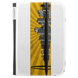 St. Louis Skyline Kindle Case (yellow)